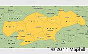 Savanna Style Simple Map of Passore