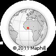 Outline Map of Batie
