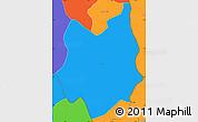 Political Simple Map of Batie