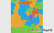 Political Map of Poni