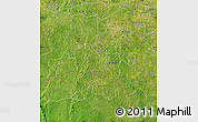 Satellite Map of Poni