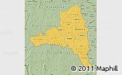 Savanna Style Map of Poni