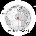 Outline Map of Kordie