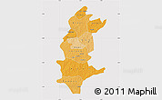 Political Shades Map of Sanguie, cropped outside