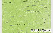Physical Map of Pouni