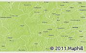 Physical 3D Map of Tenado