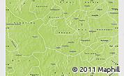 Physical Map of Tenado
