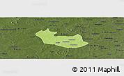 Physical Panoramic Map of Tenado, darken