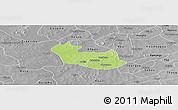 Physical Panoramic Map of Tenado, desaturated