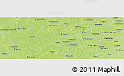 Physical Panoramic Map of Tenado