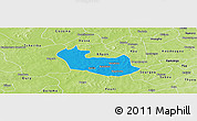 Political Panoramic Map of Tenado, physical outside