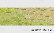 Satellite Panoramic Map of Tenado