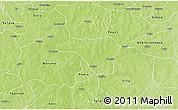 Physical 3D Map of Zawara