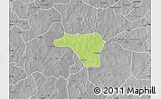 Physical Map of Zawara, desaturated