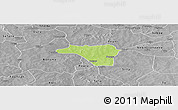 Physical Panoramic Map of Zawara, desaturated
