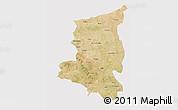 Satellite 3D Map of Sanmatenga, cropped outside
