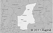 Gray 3D Map of Barsalogho