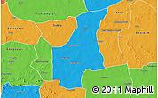 Political 3D Map of Barsalogho