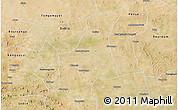 Satellite 3D Map of Barsalogho