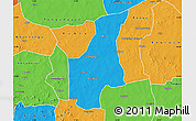 Political Map of Barsalogho