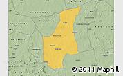 Savanna Style Map of Barsalogho