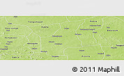 Physical Panoramic Map of Barsalogho