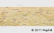 Satellite Panoramic Map of Barsalogho