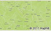 Physical 3D Map of Boussouma