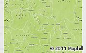 Physical Map of Boussouma