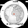 Outline Map of Boussouma
