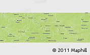 Physical Panoramic Map of Boussouma