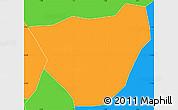Political Simple Map of Dablo