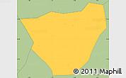 Savanna Style Simple Map of Dablo