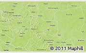 Physical 3D Map of Kaya