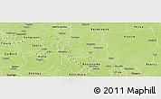 Physical Panoramic Map of Kaya