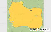Savanna Style Simple Map of Kaya