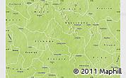 Physical Map of Korsimoro