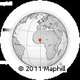 Outline Map of Korsimoro