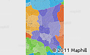 Political Shades Map of Sanmatenga