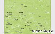 Physical Panoramic Map of Sanmatenga