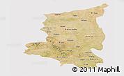 Satellite Panoramic Map of Sanmatenga, cropped outside