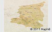 Satellite Panoramic Map of Sanmatenga, lighten