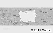 Gray Panoramic Map of Pissila