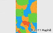 Political Simple Map of Sanmatenga