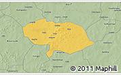 Savanna Style 3D Map of Bani