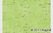 Physical Map of Bani