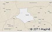 Classic Style 3D Map of Gorgadji