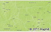 Physical 3D Map of Gorgadji