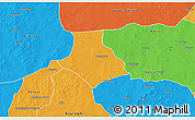 Political 3D Map of Gorgadji