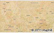 Satellite 3D Map of Gorgadji